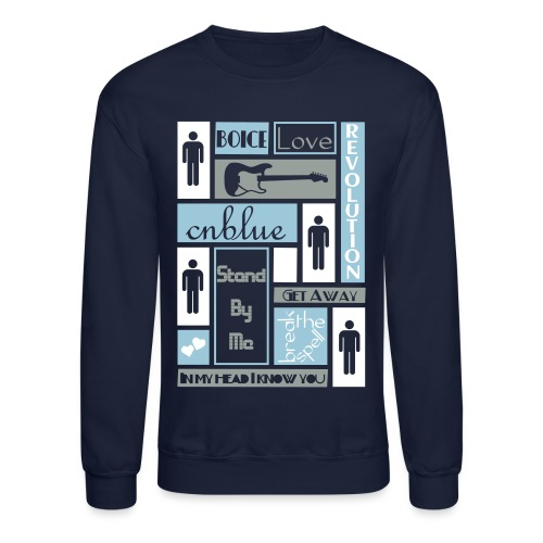 Composition CNblue 2 - Crewneck Sweatshirt
