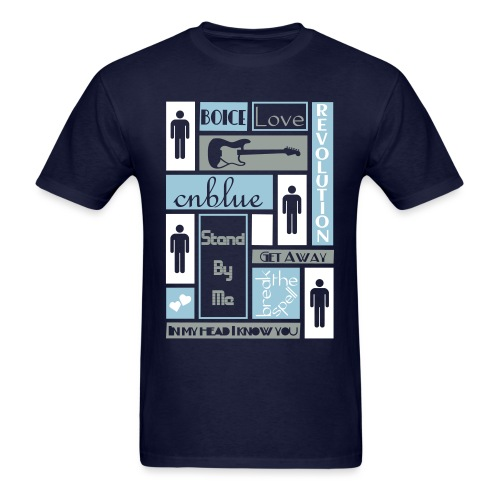 Composition CNblue 2 - Men's T-Shirt