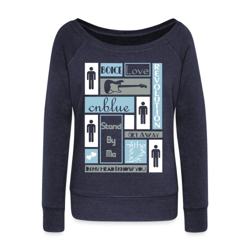 Composition CNblue 2 - Women's Wideneck Sweatshirt