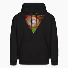 Cosmic Triangle Hoodies