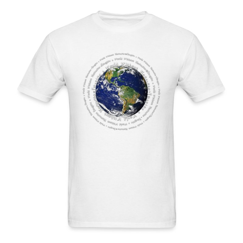 Imagine a World Without Monsanto - Men's T-Shirt