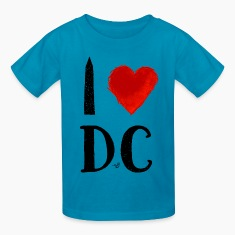 I Heart DC (remix) by Tai's Tees