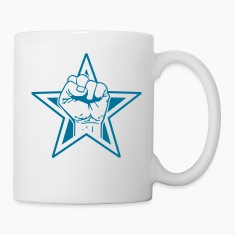 star fist Bottles & Mugs