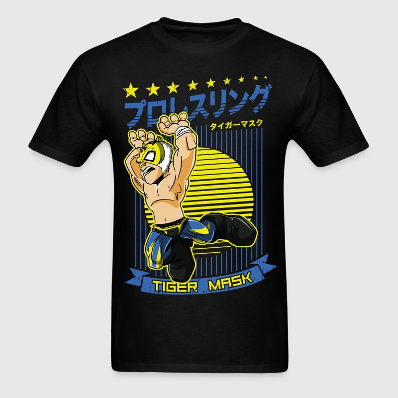 Tiger Mask T-Shirts - Men's T-Shirt