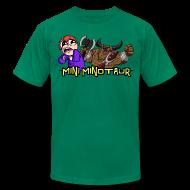 T-Shirts ~ Men's T-Shirt by American Apparel ~ Mini Minotaur
