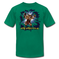 T-Shirts ~ Men's T-Shirt by American Apparel ~ Mini Minotaur