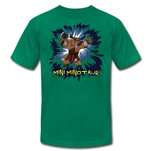 Mini Minotaur  - Men's T-Shirt by American Apparel
