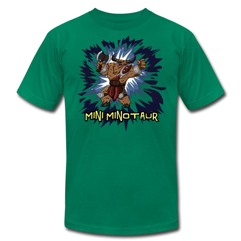 Mini Minotaur  - Men's Fine Jersey T-Shirt
