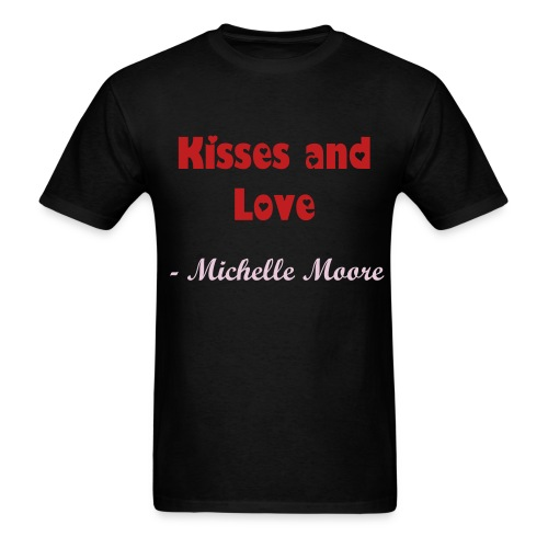 Kisses and Love - Men's T-Shirt