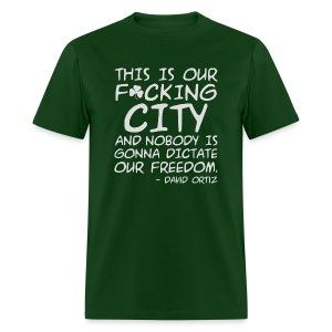 Big Papi Speech Censored - Men's T-Shirt