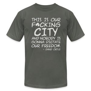 Big Papi Speech Censored - Men's Fine Jersey T-Shirt