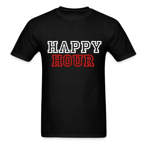 Happy Hour College T - Men's T-Shirt