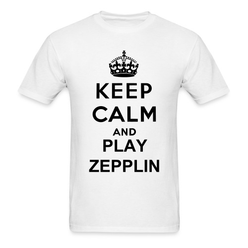 Play Zepplin!!!! - Men's T-Shirt
