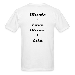 Love Music  - Men's T-Shirt
