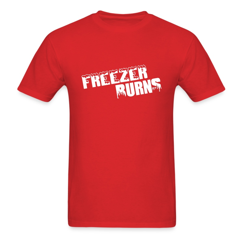 Freezerburns Red - Men's T-Shirt