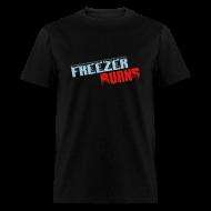T-Shirts ~ Men's T-Shirt ~ Freezerburns Black