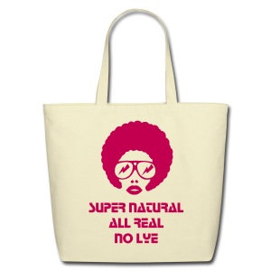 Super Natural Tote - Eco-Friendly Cotton Tote