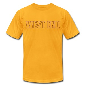 WES Graduation T 2013 - Men's T-Shirt by American Apparel