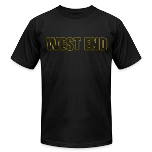 WES Grad T 2013 - BLACK - Men's T-Shirt by American Apparel