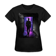 Women's T-Shirts ~ Women's T-Shirt ~ Space door