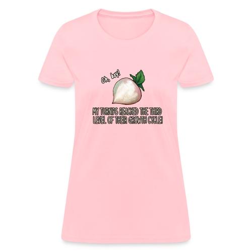PBG Turnip T-Shirt For Ladies! - Women's T-Shirt