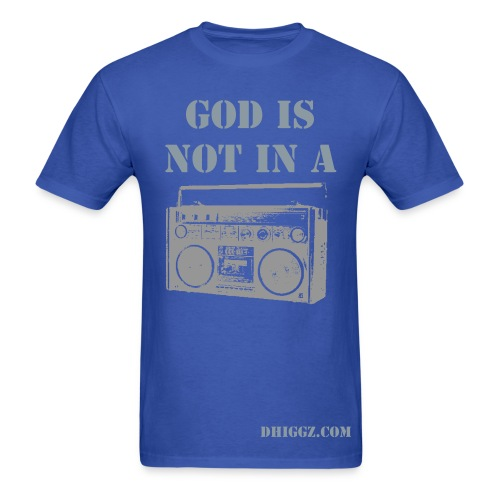 God Is Not In A Box - Tee - Men's T-Shirt