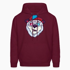 Ice cold polar bear Hoodies