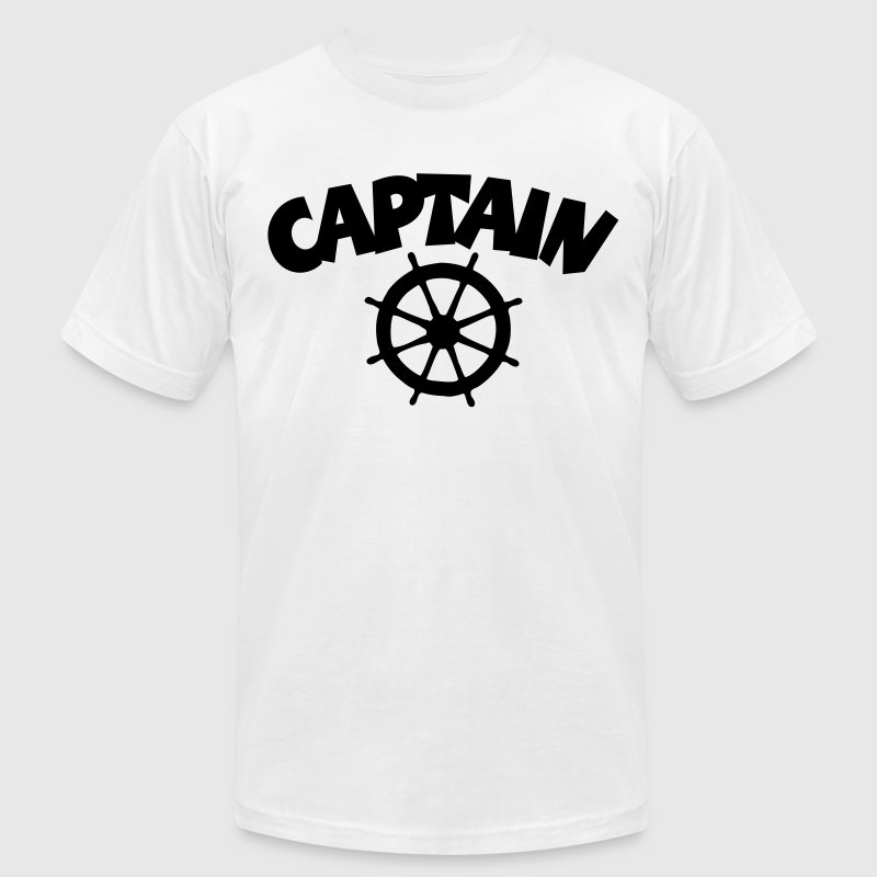 Captain T-Shirt - Men's T-Shirt by American Apparel