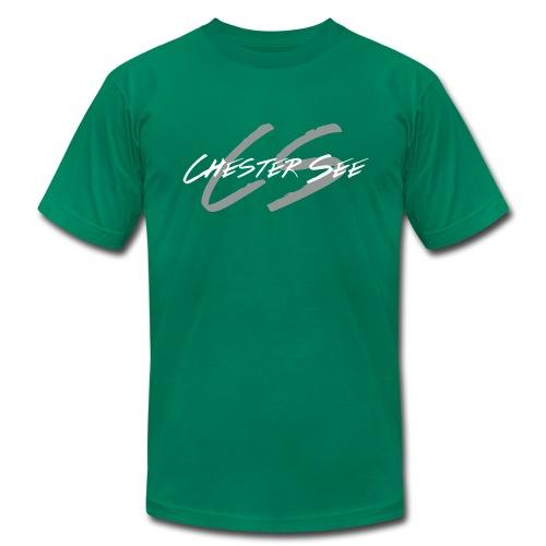 csblueblack - Men's Fine Jersey T-Shirt
