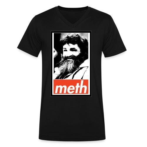Manson's Meth Men's V-neck T-shirt - Men's V-Neck T-Shirt by Canvas