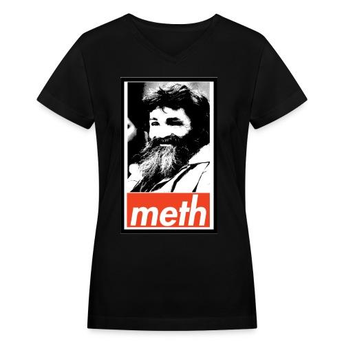 Manson's Meth Women's V-neck T-shirt - Women's V-Neck T-Shirt