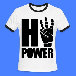 HiiiPower T-Shirts - Men's Ringer T-Shirt