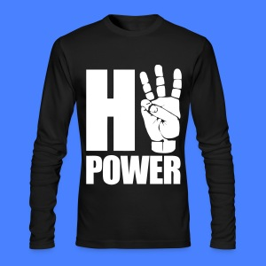 HiiiPower Long Sleeve Shirts - Men's Long Sleeve T-Shirt by Next Level