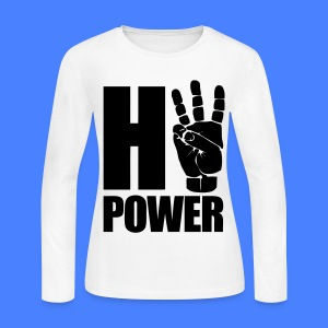 HiiiPower Long Sleeve Shirts - Women's Long Sleeve Jersey T-Shirt