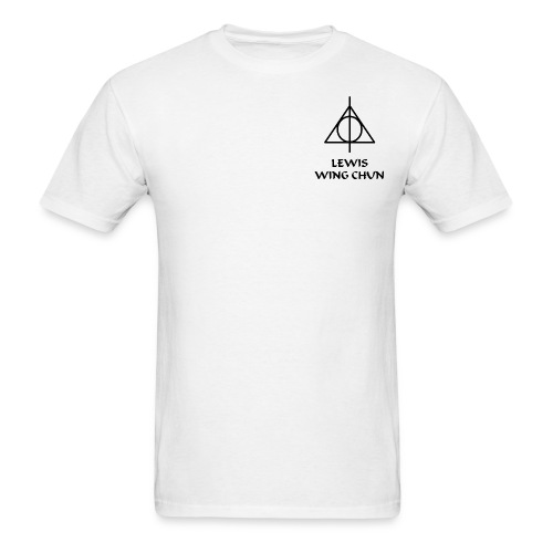 LWC White T-Shirt with WC Characters - Men's T-Shirt