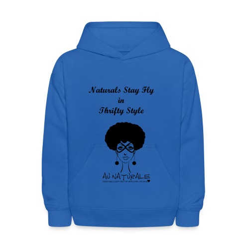 Kids' Hoodie - Stay fly in Thrifty Style