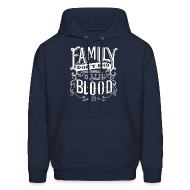 Hoodies ~ Men's Hoodie ~ Family Don't End With Blood