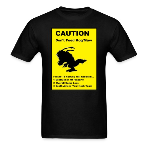 CAUTION - Men's T-Shirt