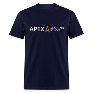 Men's Apex Logo T-Shirt (White) - Men's T-Shirt