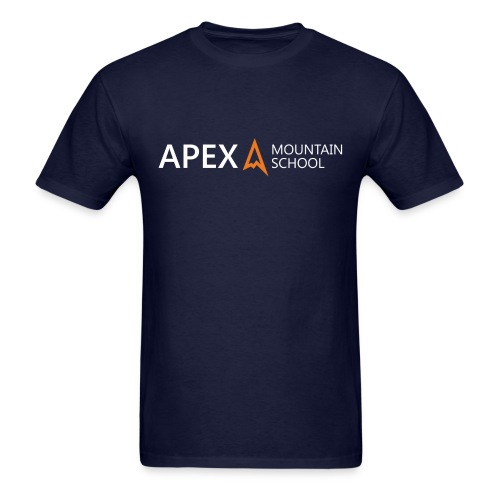 Men's Apex Logo T-Shirt (White) - Men's T-Shirt