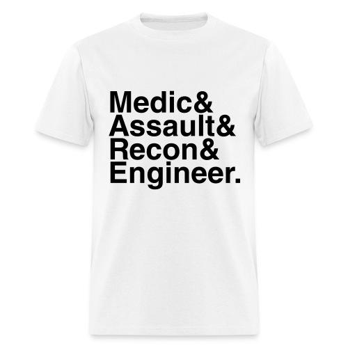 Battlefield: Bad Company 2 - Men's T-Shirt
