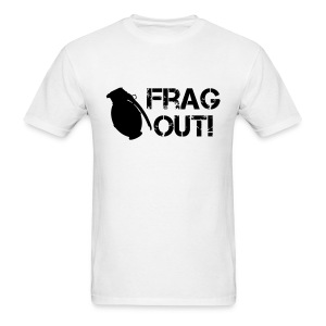 Frag Out  - Men's T-Shirt