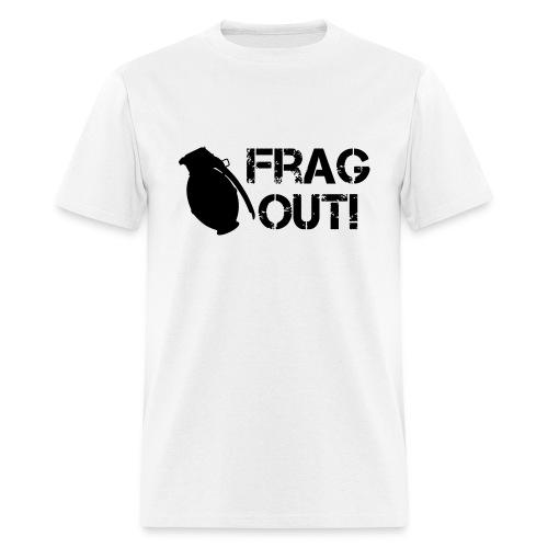Frag Out  - Men's T-Shirt