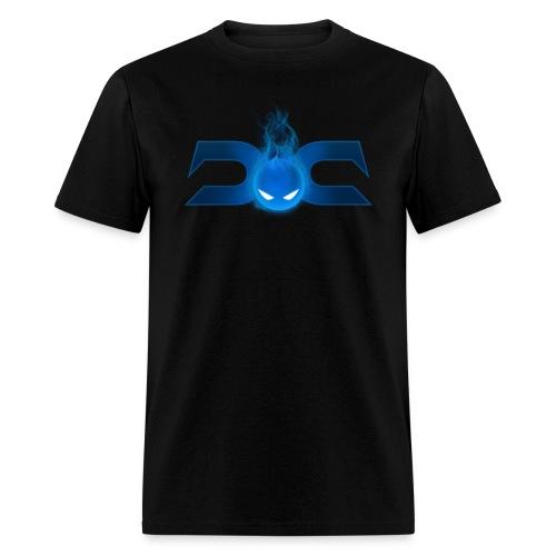 MENS TEE: DotaCinema logo 2 black - Men's T-Shirt