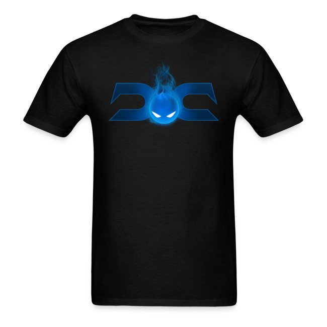 MENS TEE: DotaCinema logo 2 black