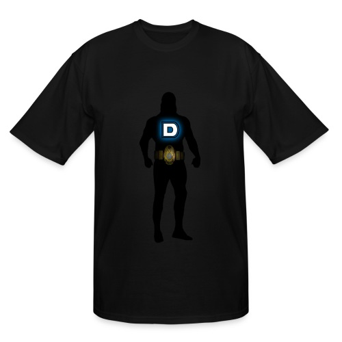 Bow Down to the Big D Tall - Men's Tall T-Shirt