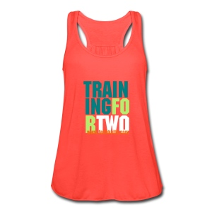 Training for Two - Women's Flowy Tank Top by Bella