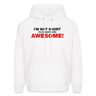 Hoodies ~ Men's Hoodie ~ I'm Not Short I'm Concentrated Awesome