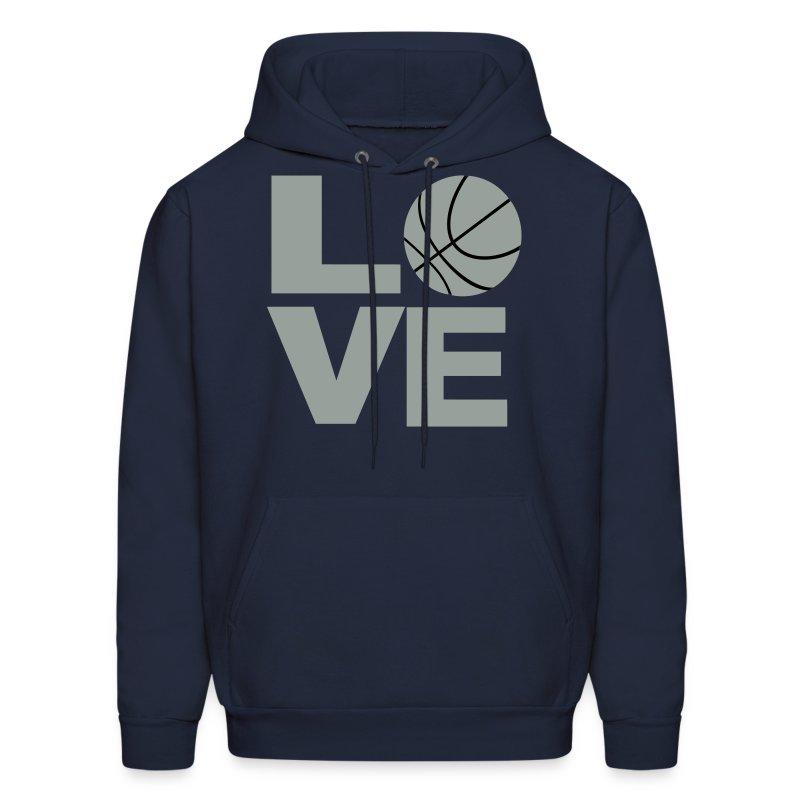 Love and basketball hoodie