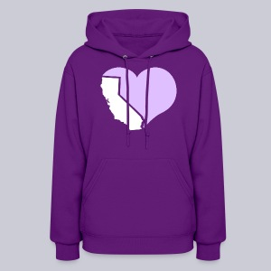 Heart California Heart - Women's Hoodie